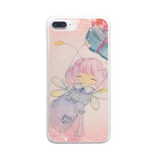 フェアリーリムリム Clear smartphone cases