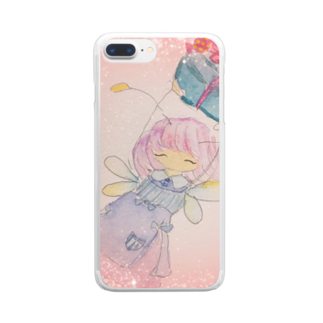 Rigelworksのフェアリーリムリム Clear smartphone cases