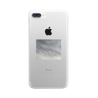 PAONの曇ってり Clear smartphone cases