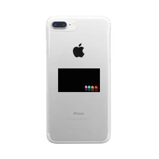 hirohiro4のパクマン Clear smartphone cases