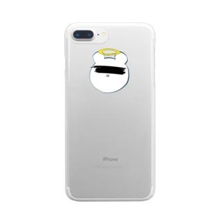 昇天 Clear smartphone cases
