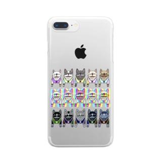 NinoJunananoKyuのフレブル☆フレブル★フレブル Clear smartphone cases