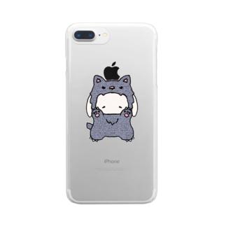 KAREZUの狼うさぎ Clear smartphone cases