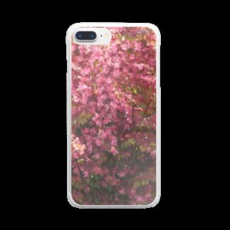 Kinomikiのfull bloom… Clear smartphone cases