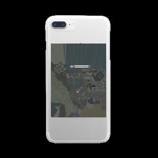 NINONのIn my room Clear smartphone cases