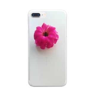 カランコエ  クリア Clear smartphone cases