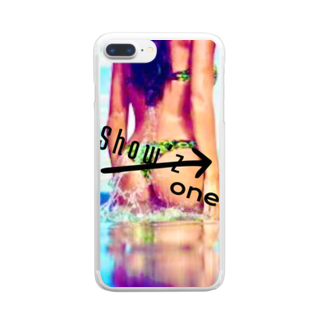 Showz_oneのShow'z one Clear smartphone cases