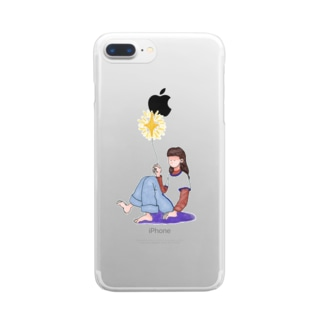 girl Clear smartphone cases
