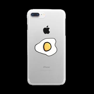 しおい&しおん  毎月下旬 定価セールのめだまやき Clear smartphone cases