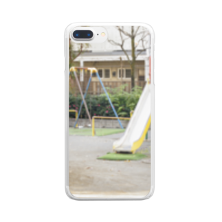 まきまきふぉとのこうえん。 Clear smartphone cases