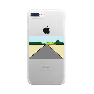 ハイウェイー Clear smartphone cases