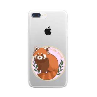 Lichtmuhleのレッサーパンダ Clear smartphone cases
