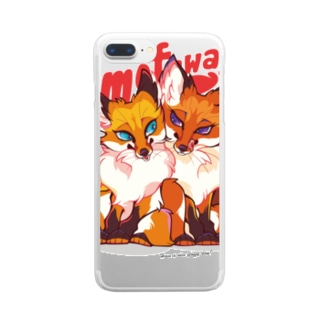 FOX TWINS(case) Clear smartphone cases
