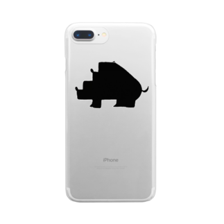 Animals MatingのAnimals  Mating(動物達の交尾) Clear smartphone cases
