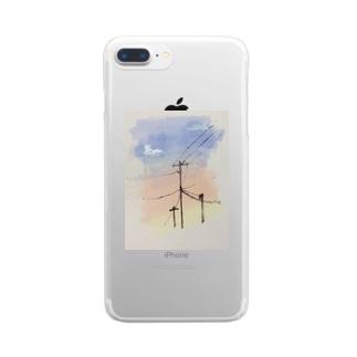 高砂橋 Clear smartphone cases