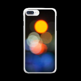 まきまきふぉとのねおん。 Clear smartphone cases