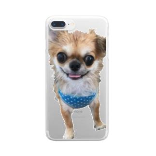 ぴのくん Clear smartphone cases
