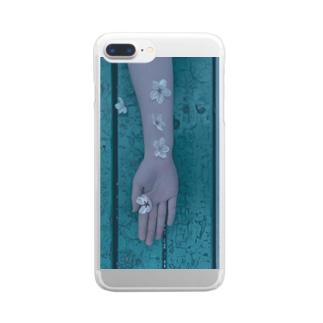 あの娘の優しさ Clear smartphone cases