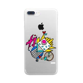 5. 『さいぼう』 Clear smartphone cases