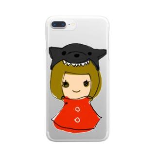 くーちゃんとわたし Clear Smartphone Case