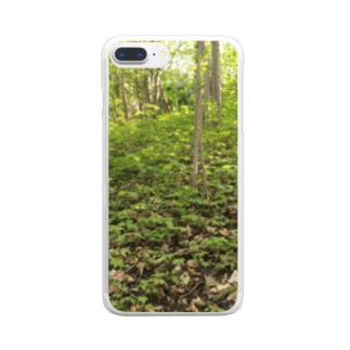 Be Forest Clear smartphone cases