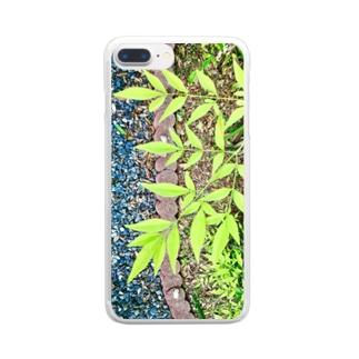 庭先 Clear smartphone cases