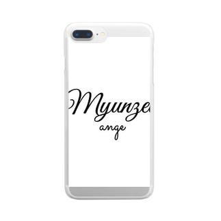 ミュンゼルアンジュロゴ Clear smartphone cases