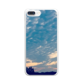 blue_sky Clear smartphone cases