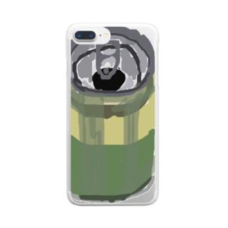 食欲の失せるのみもの Clear smartphone cases