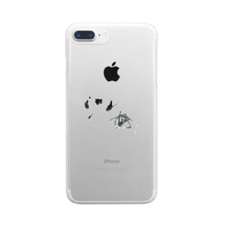 海 =sea= Clear smartphone cases