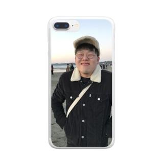 笑顔の暴力 Clear smartphone cases