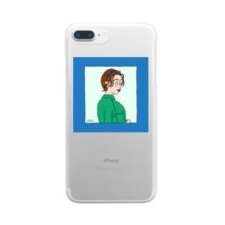 カチューシャ Clear smartphone cases