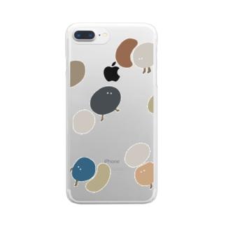 たくさん Clear smartphone cases