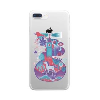 Wonderland Clear smartphone cases