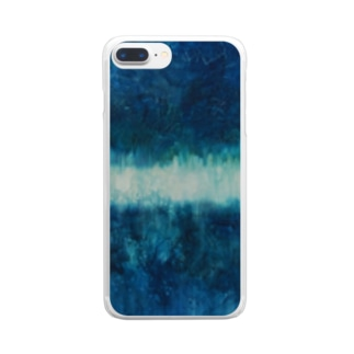 Forest_Oil painting Clear smartphone cases
