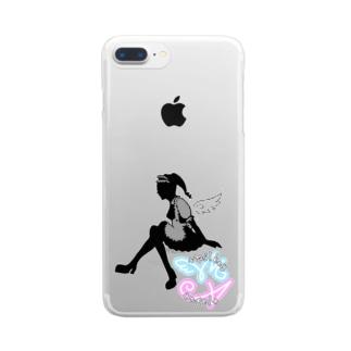 ミルキちゃん(仮) Clear smartphone cases
