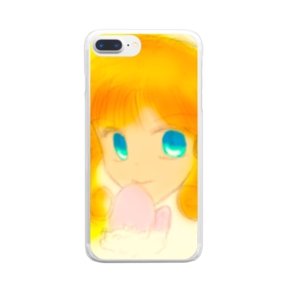 WinterGirl Clear smartphone cases