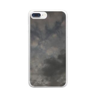 夜 Clear smartphone cases