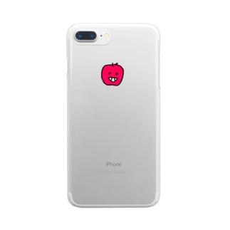 りんこふぉーん Clear smartphone cases