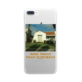 MORE TODAY THAN YESTERDAY Clear smartphone cases