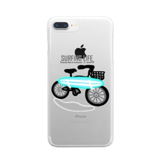 SURFING LIFE Clear smartphone cases