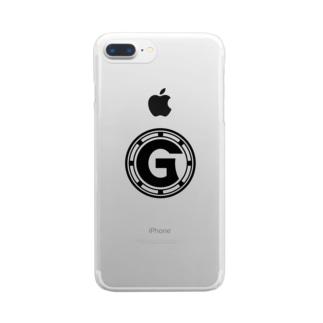 イニシャル「G」:type-A Clear smartphone cases