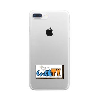 いっくんTVロゴ Clear smartphone cases