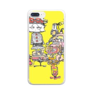 打破 Clear smartphone cases