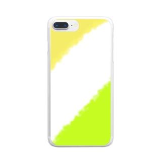 千紗都の香川カラー Clear smartphone cases