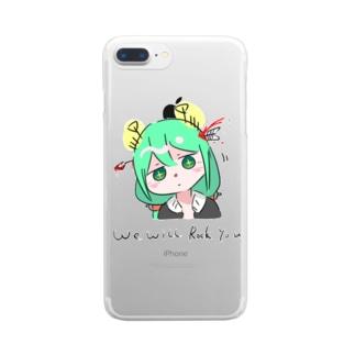 自画像奴 Clear smartphone cases