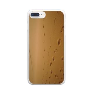 yutoyouの Sahara Clear smartphone cases