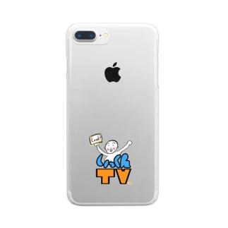 いっくんTVのロゴその2 Clear smartphone cases