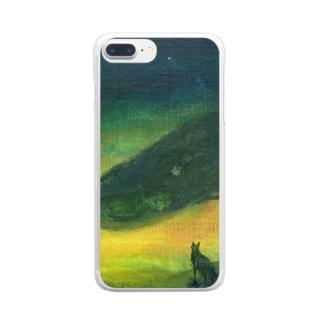 月ノ子の森に恋してのムラナギ/ジキムとロッカ Clear smartphone cases