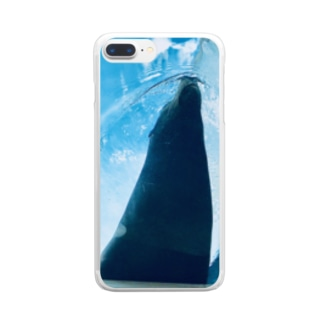 yutoyouのSummer Seal other ver. Clear smartphone cases